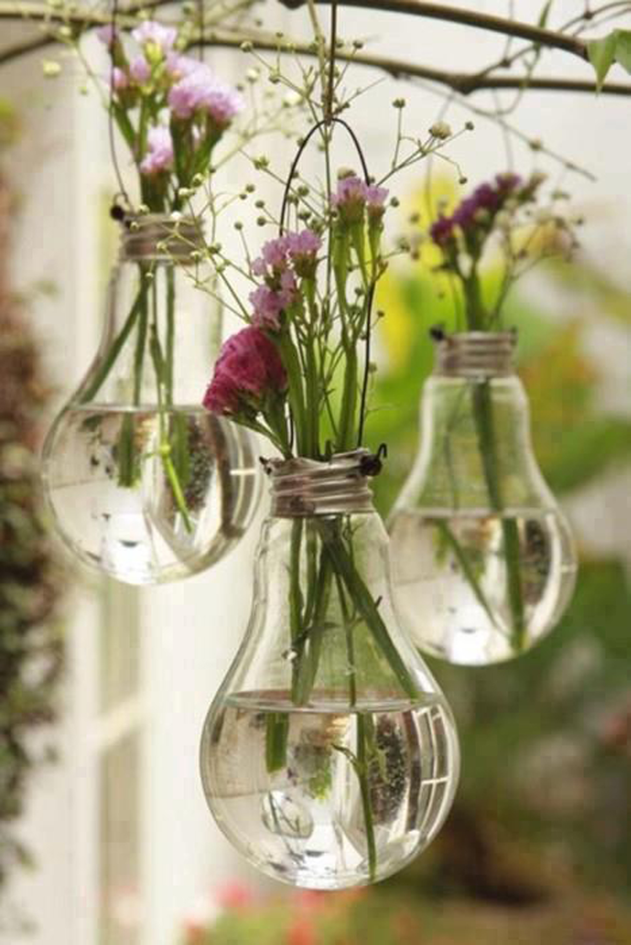old lightbulb 25 Indoor Garden Ideas