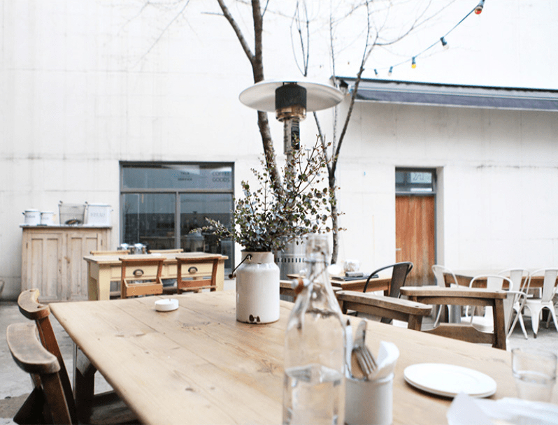 outdoor cafe 4 Ways to Enjoy Your Outdoor Space During the Winter Months