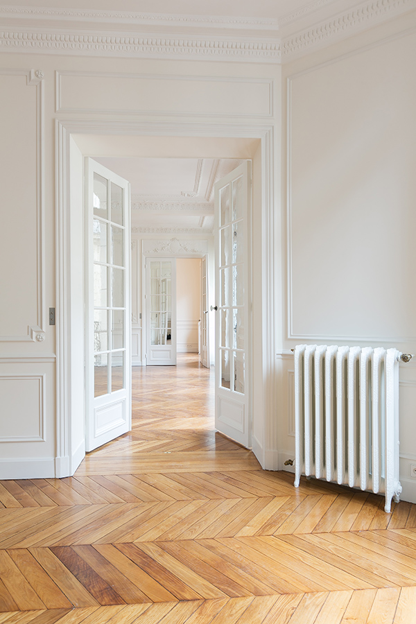 restored classical haussmannian apartment by a b kasha 2 Tumblr Collection #13
