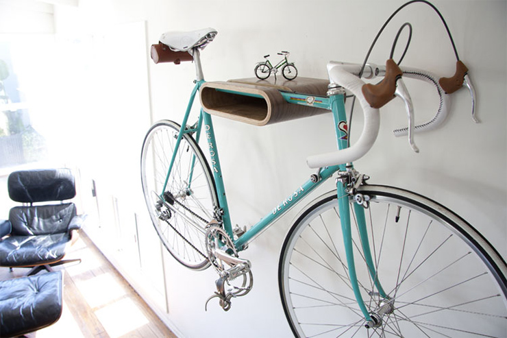 road bike wooden rack Bike Storage Ideas: 30 Creative Ways of Storing Bike Inside your Home