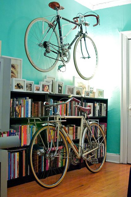 simple storing idea Bike Storage Ideas: 30 Creative Ways of Storing Bike Inside your Home