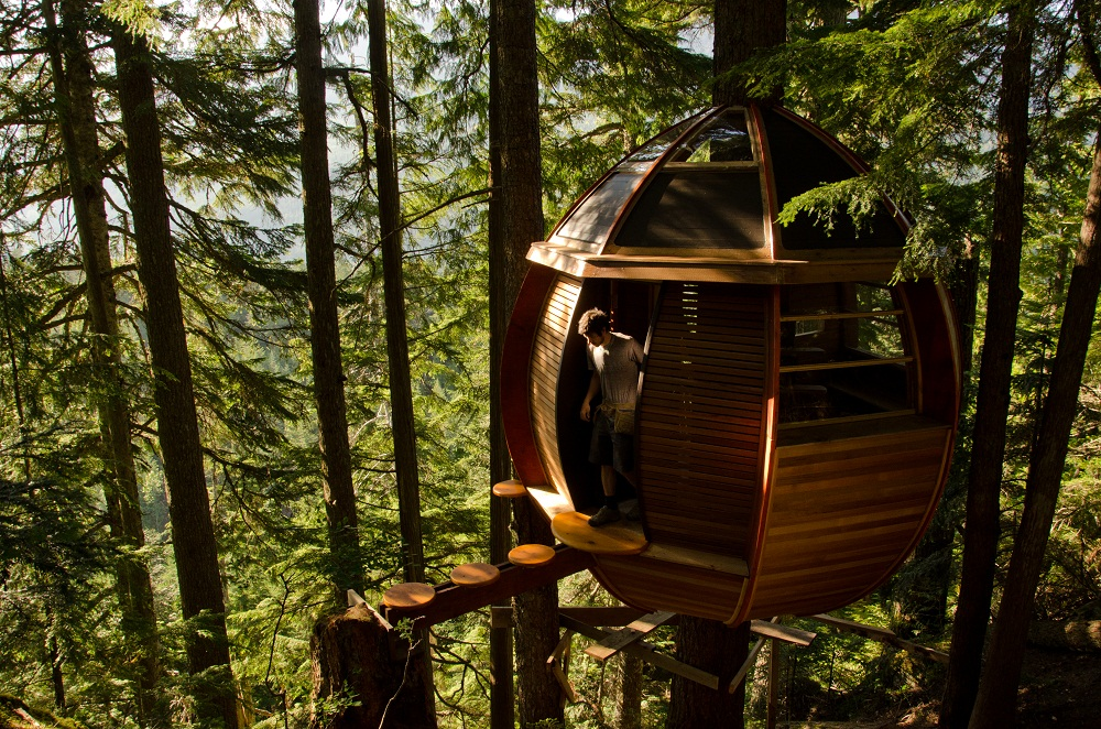 the hemloft canada 10 Most Amazing Treehouse Hotels From Which You Would Never Wish To Check Out