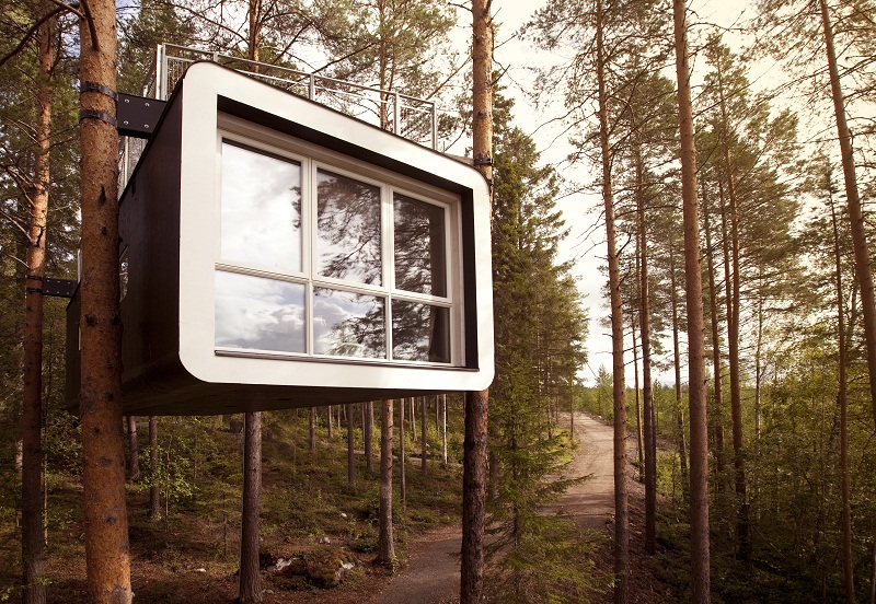 treehotel sweden 10 Most Amazing Treehouse Hotels From Which You Would Never Wish To Check Out