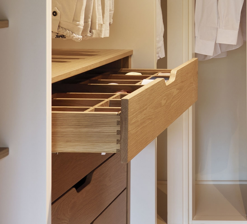 1371568042 drawer large Top 40 Modern Walk in Closets