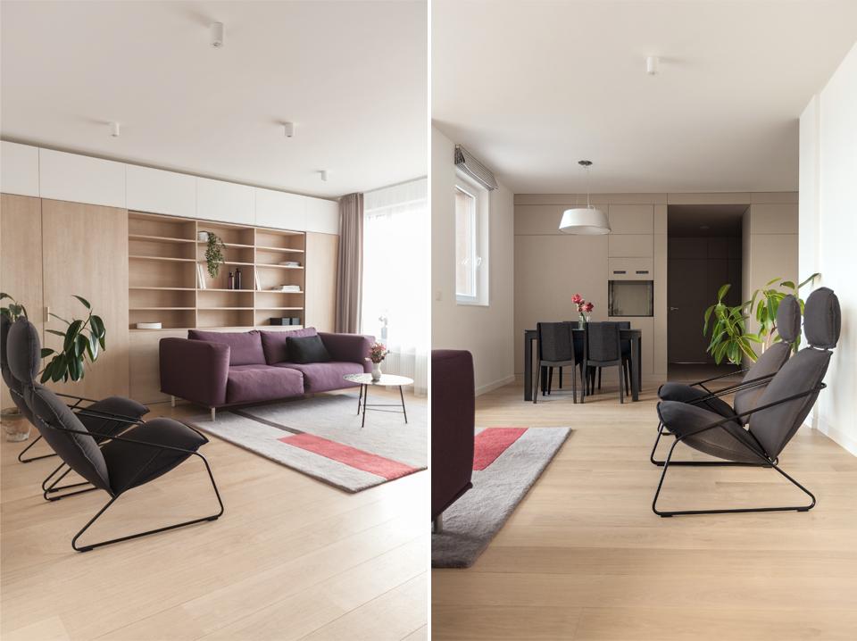 Apartment in Vilnius by Normundas
