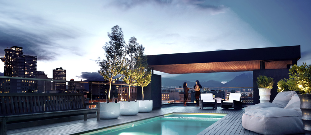 The Keefer Penthouse in Vancouver