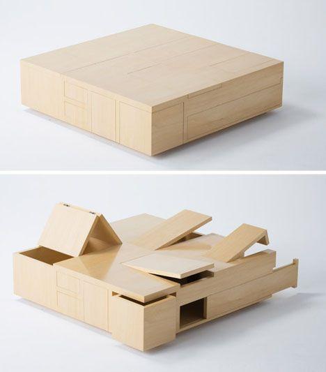 30 coffee table design ideas 26 30 Coffee Table design ideas