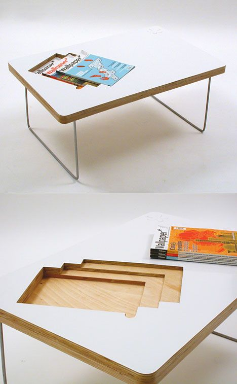 30 coffee table design ideas 6 30 Coffee Table design ideas