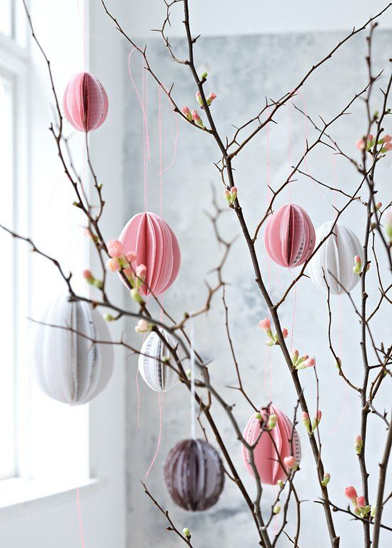 4ced84248d9be54205421ced2a88f64a 25 Beautiful Easter Decor Ideas