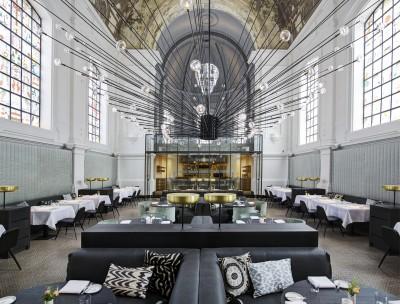 Exclusive restaurant in Antwerp