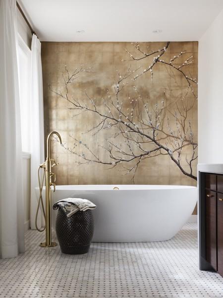 1b hhfeb13 casey bath 001 final 50+ Floral Wallpaper and Mural Ideas