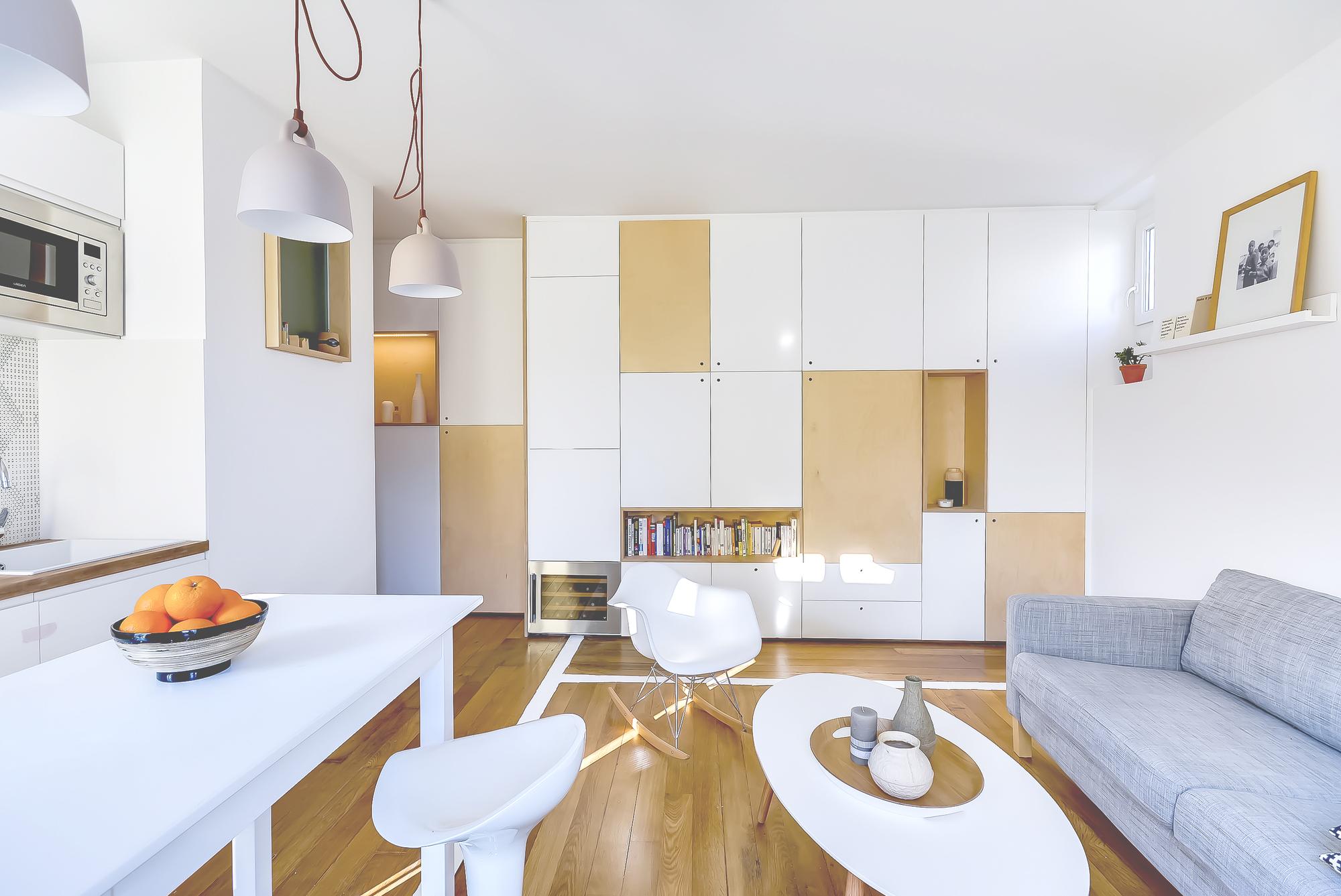 30m2 apartment in paris 3 30m2 Apartment in Paris