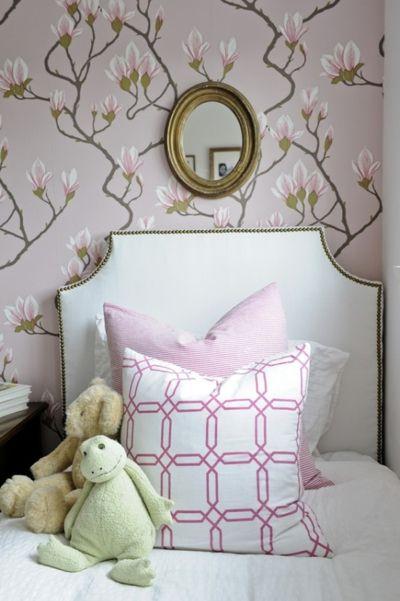 4d0f760d10f75992271301f674c37f77 50+ Floral Wallpaper and Mural Ideas