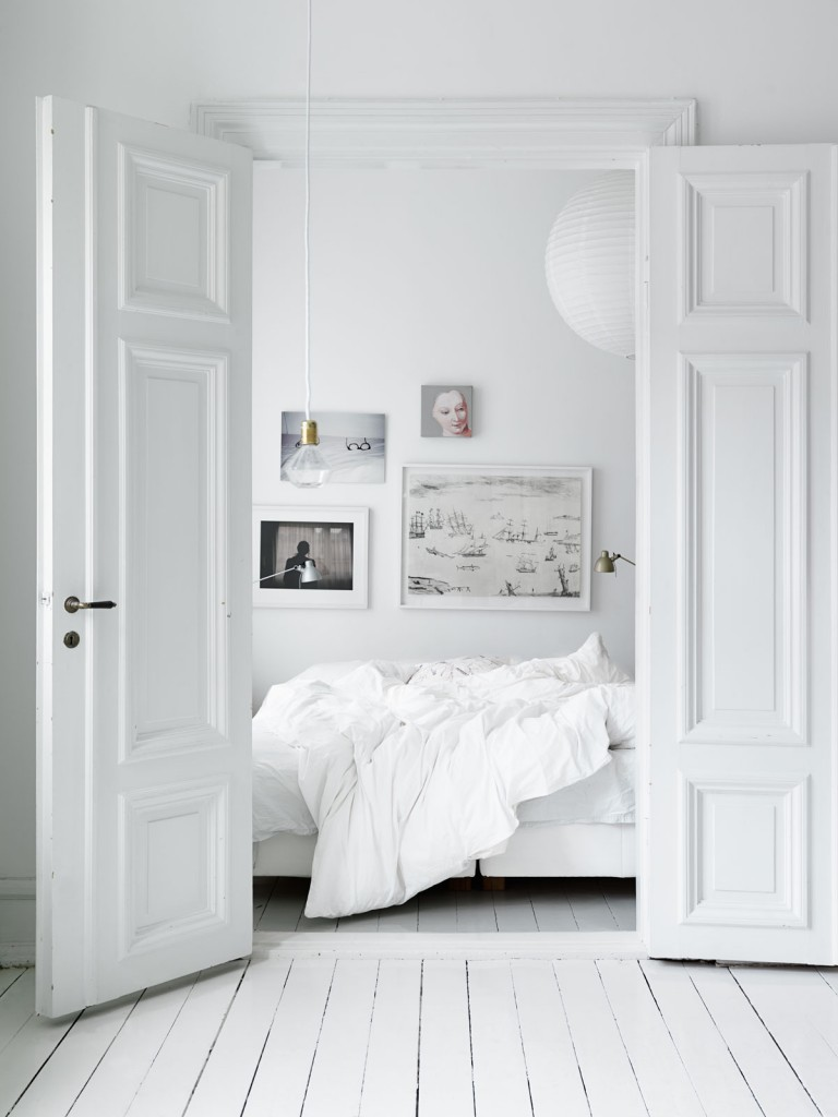 a home in sweden photo by petra bindel 768x1024 How to Turn Your Bedroom into A Safe Haven