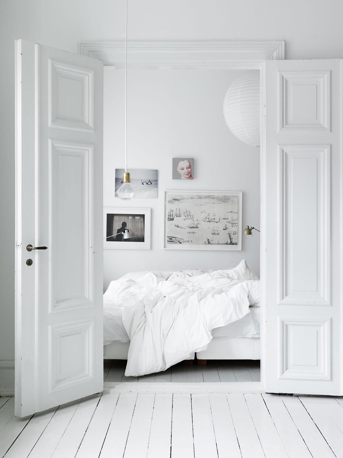 a home in sweden photo by petra bindel 50 Awesome Bedroom Ideas