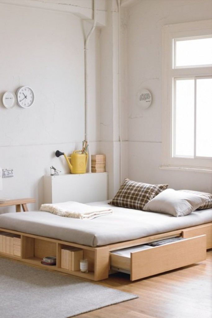 bedroom inspiration 683x1024 8 Small Home Design Ideas That Will Make Your Space Look Bigger
