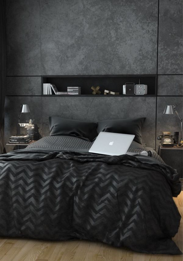 grey bedroom 50 Awesome Bedroom Ideas
