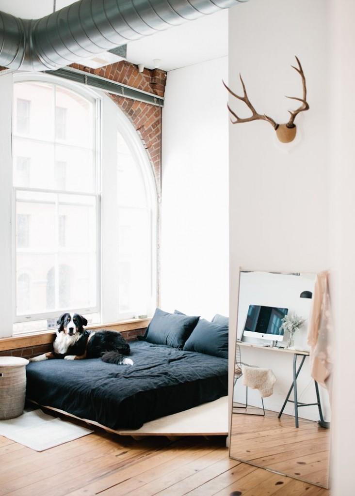 loft bedroom 732x1024 9 Things to Put In Your Bedroom
