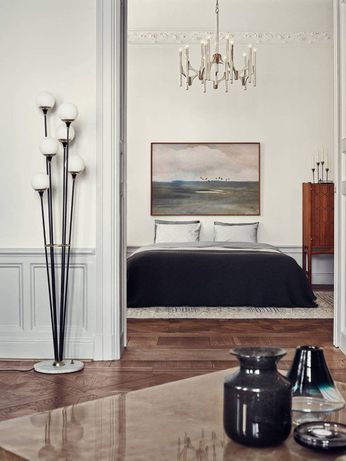 stockholm interior apartment joanna laven 9 50 Awesome Bedroom Ideas