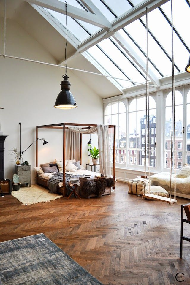 the loft amsterdam 50 Awesome Bedroom Ideas