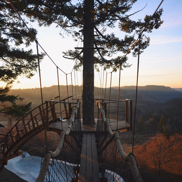 every childs dream perfect self built treehouse 5 Every Childs Dream   Perfect Self built Treehouse