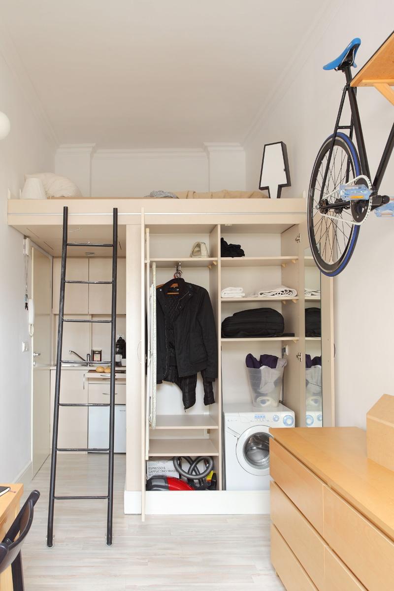 13m2 tiny minimalist apartment 2 13m2 Tiny Apartment In Wroclaw