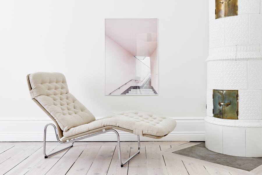 White and Pink Apartment