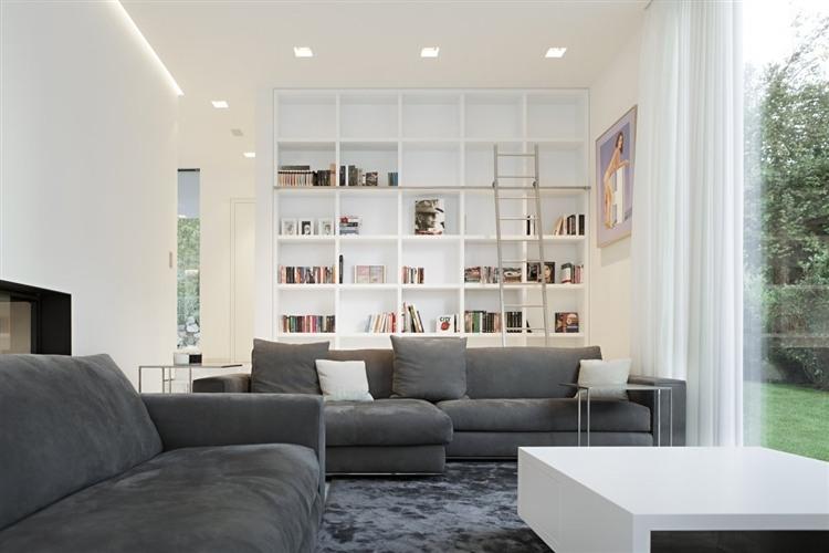 020 house m Modern House by Monovolume