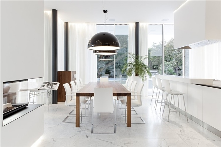 021 house m Modern House by Monovolume