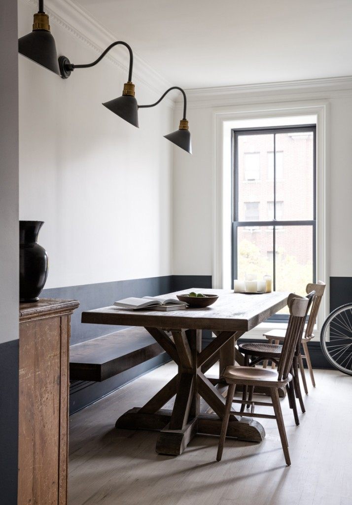 dining room 1 714x1024 Industrial Windows: When and How You Should Use Them?