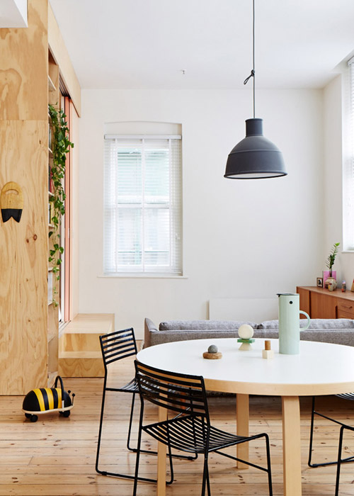 honeyhome diningthroughliving Creative Studio By Clare Cousins