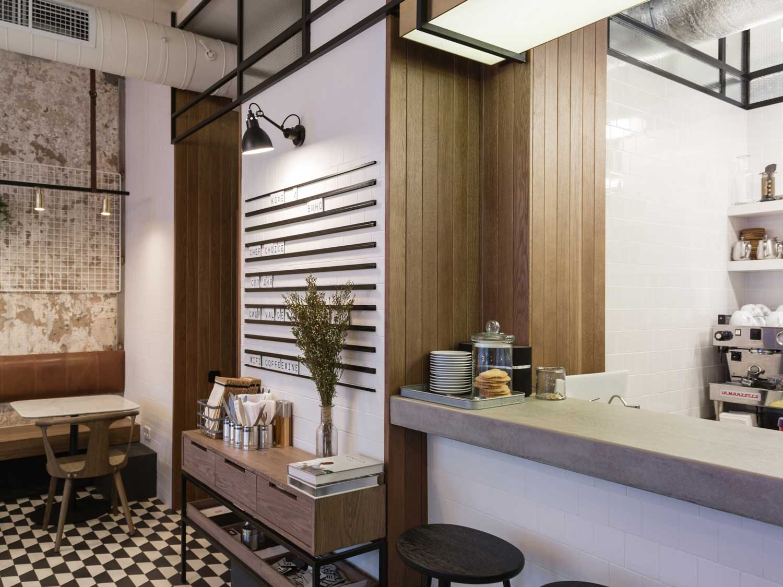 nude coffee and wine bar by form bureau 04 NUDE. COFFEE & WINE BAR BY FORM BUREAU