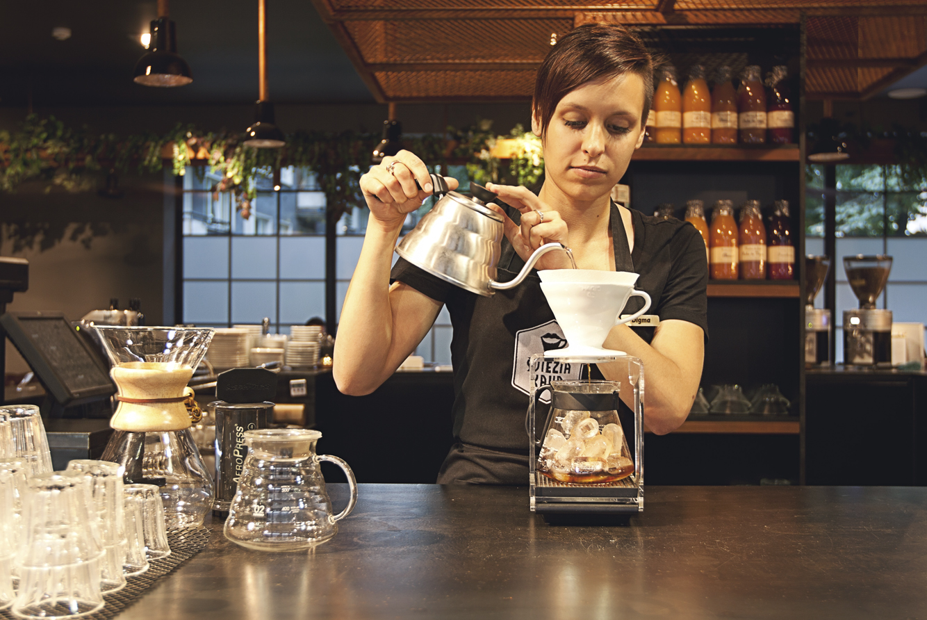 sviezia kava huracan coffee vilnius lithuania 5 Coffee Shop ŠVIEŽIA KAVA In Vilnius
