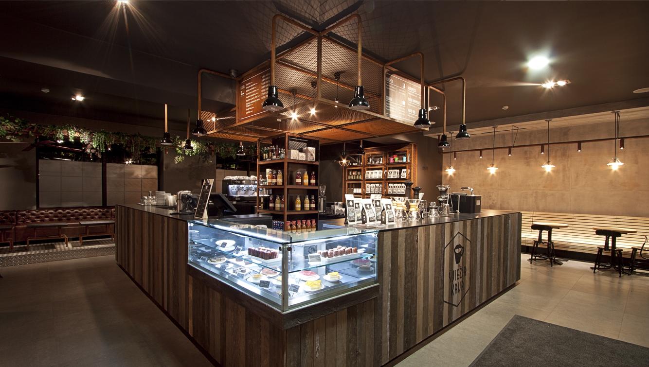Coffee Shop VieŽia Kava In Vilnius