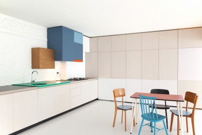 Colorful Kitchen By Belgian Designer Dries Otten
