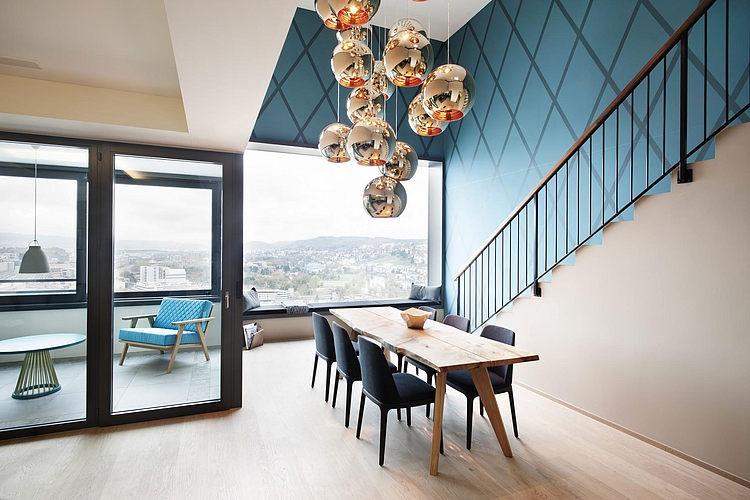elegant penthouse Elegant Penthouse in Zurich