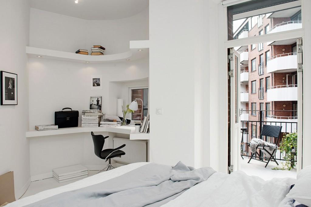 sfdcece2cba3dee49b9b3dd74cb0e8c54f5 1024x683 White Apartment   Sweden