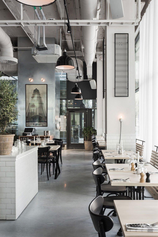The Usine Restaurant in Stockholm
