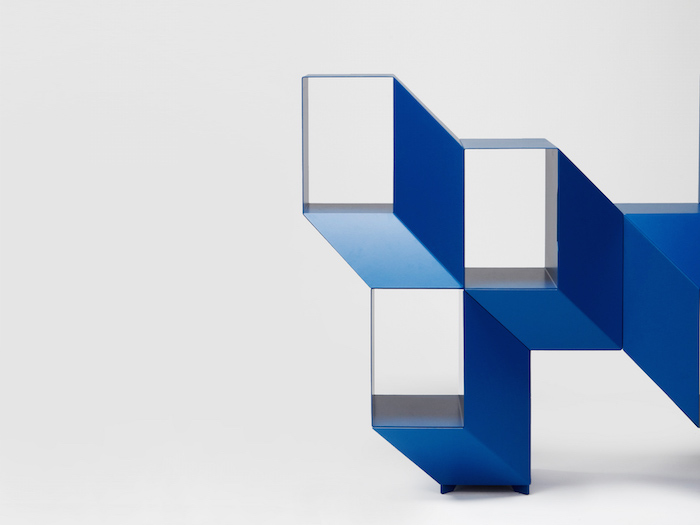 charles kalpakian designed a shelf that looks like an optical illusion 3 Charles Kalpakian Designed A Shelf That Looks Like An Optical Illusion