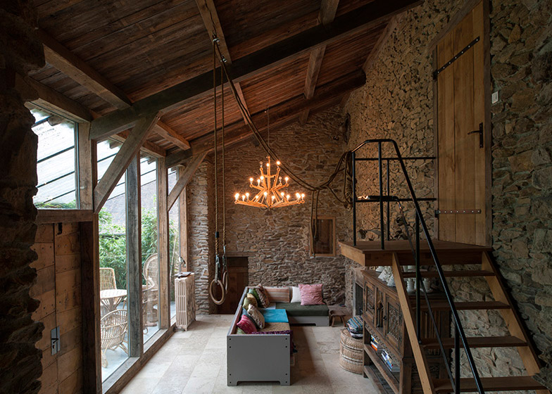 former mill buildings converted into holiday residence in france 6 Former Mill Buildings Converted Into Holiday Residence In France