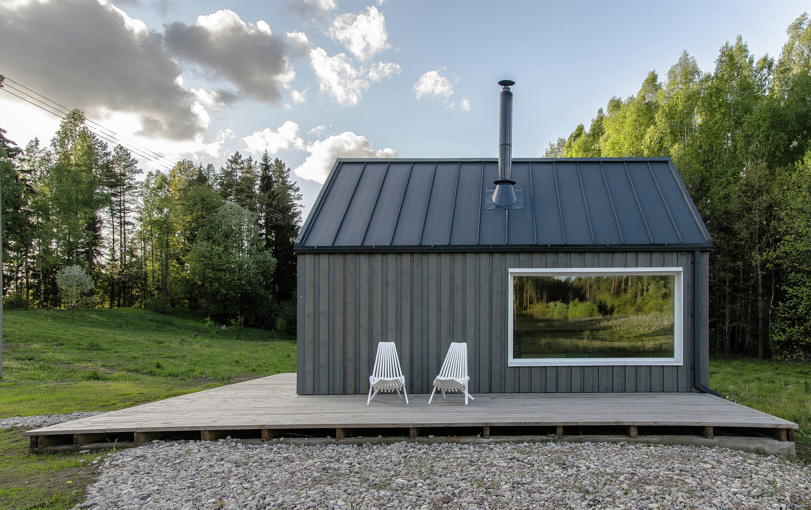 hunting house surrounded by woods in lithuania 1 Hunting House Surrounded By Woods In Lithuania