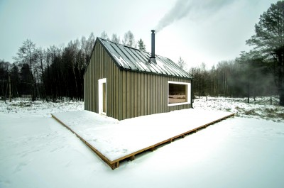 Hunting House Surrounded By Woods In Lithuania