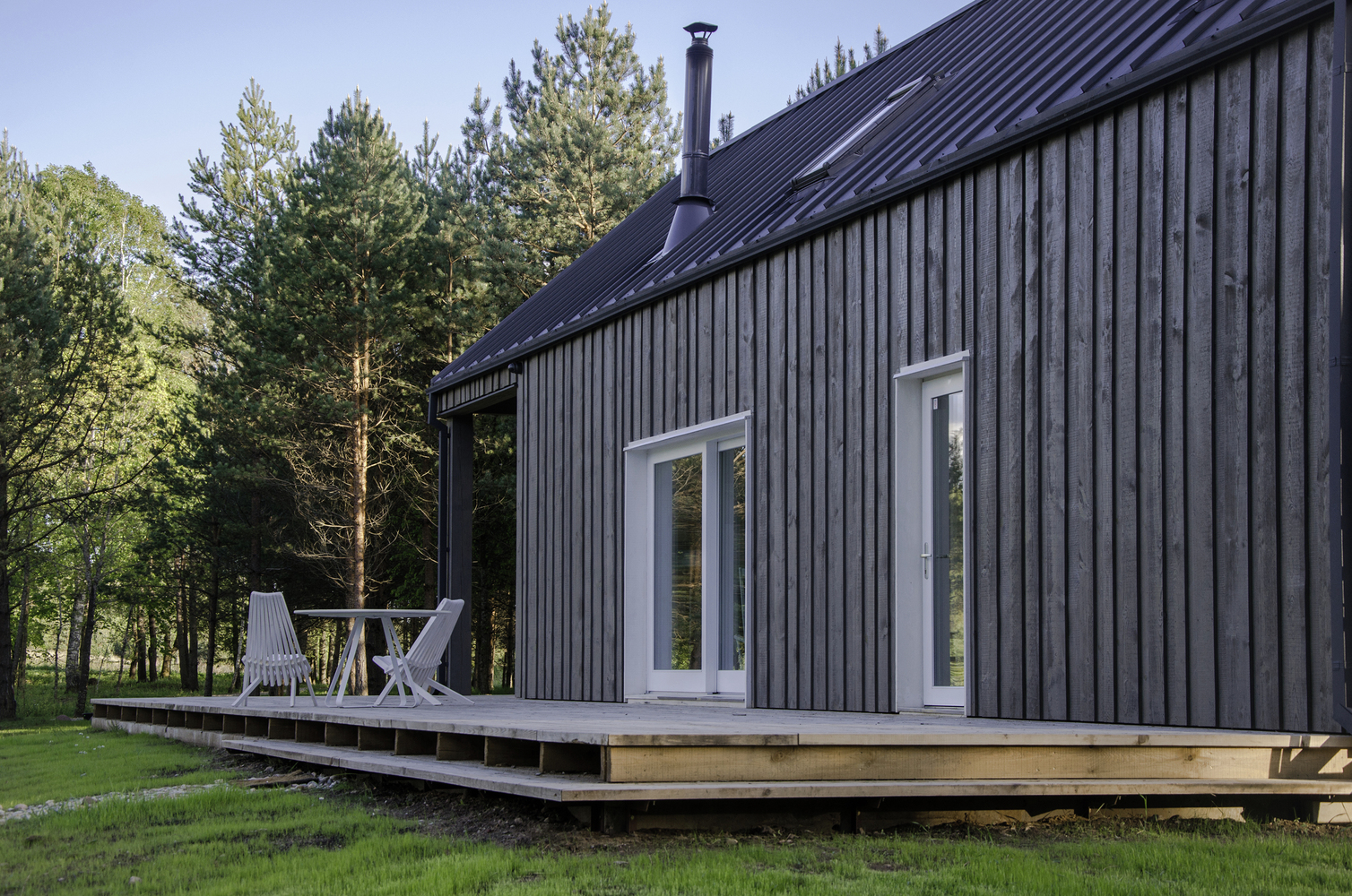 hunting house surrounded by woods in lithuania 3 Hunting House Surrounded By Woods In Lithuania