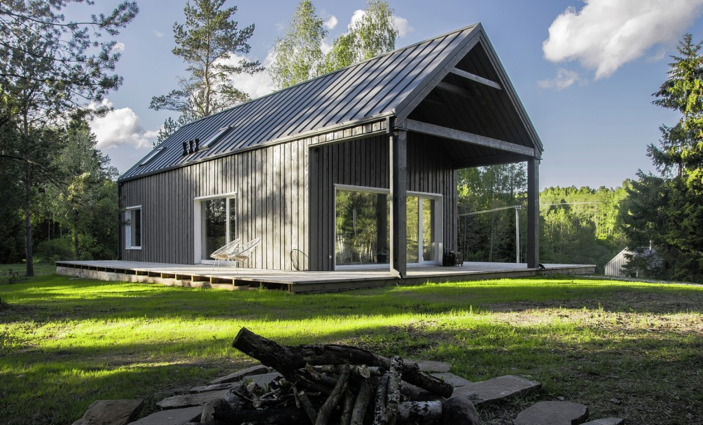 hunting house surrounded by woods in lithuania 5 1024x619 4 Architectural Sectors that Architects Influence on a Daily Basis