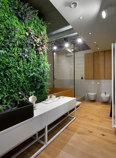 Living Wall Grows In This Awesome Penthouse