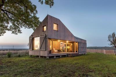 Low Energy Wooden House 'Zilvar' In Eastern Bohemia