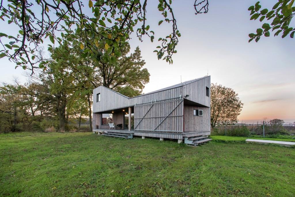 low energy wooden house zilvar in eastern bohemia 15 1024x684 Low Energy Wooden House Zilvar In Eastern Bohemia