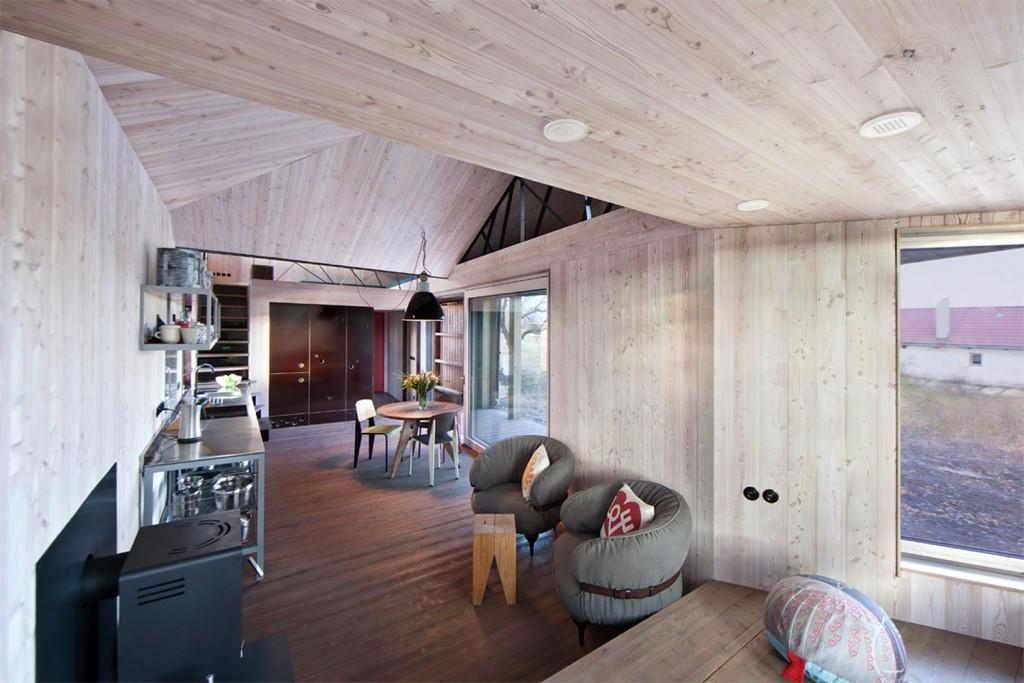 low energy wooden house zilvar in eastern bohemia 16 1024x683 Low Energy Wooden House Zilvar In Eastern Bohemia