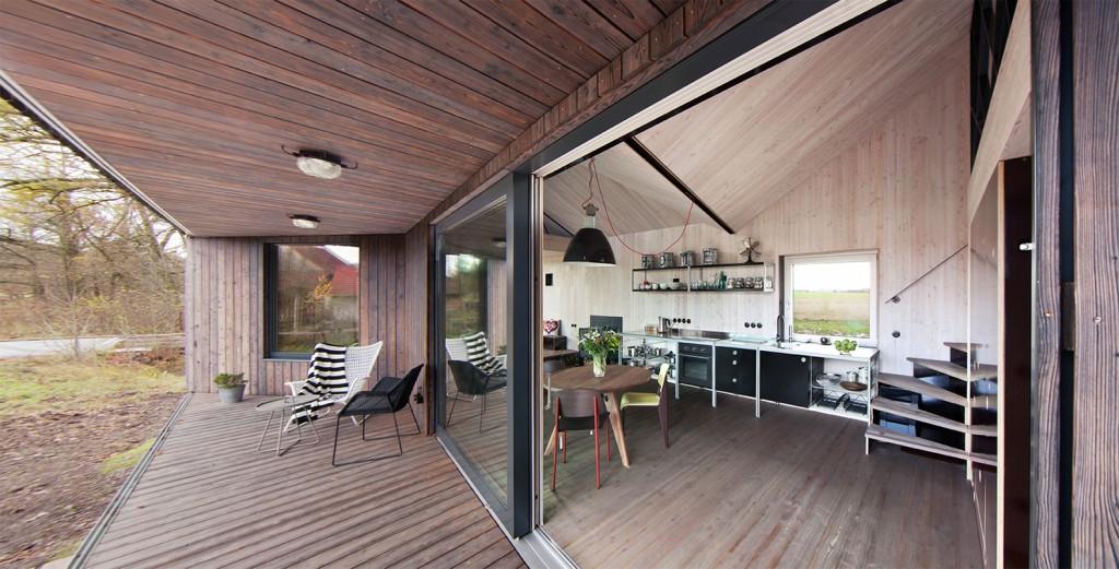 low energy wooden house zilvar in eastern bohemia 7 1024x521 Low Energy Wooden House Zilvar In Eastern Bohemia