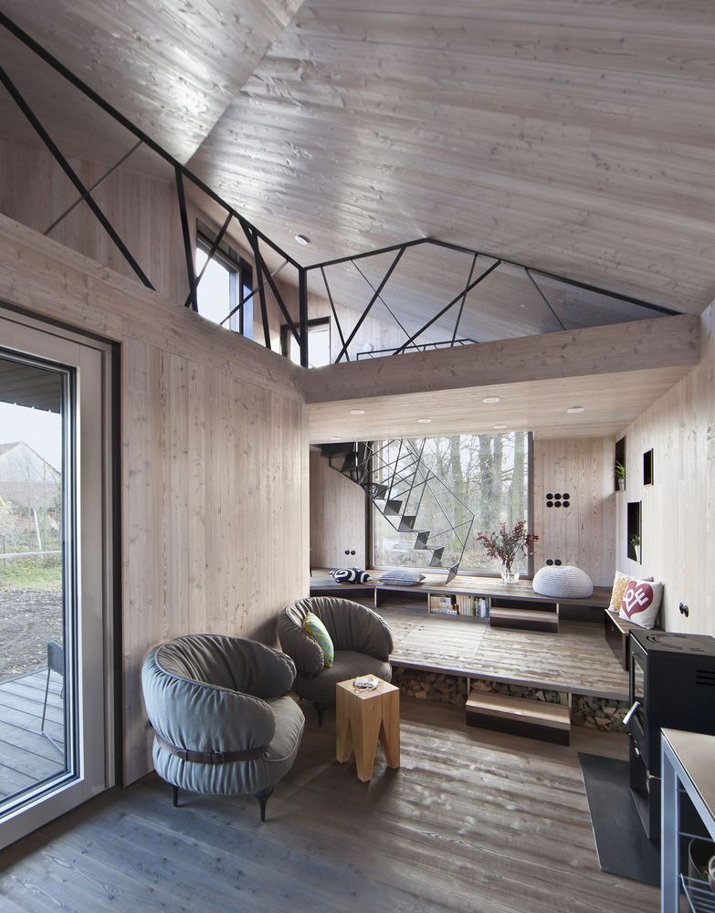 low energy wooden house zilvar in eastern bohemia 9 Low Energy Wooden House Zilvar In Eastern Bohemia